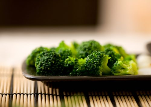 Blazing Balsamic Broccoli
