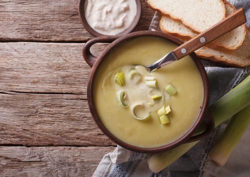 Hearty Potato Leek Soup